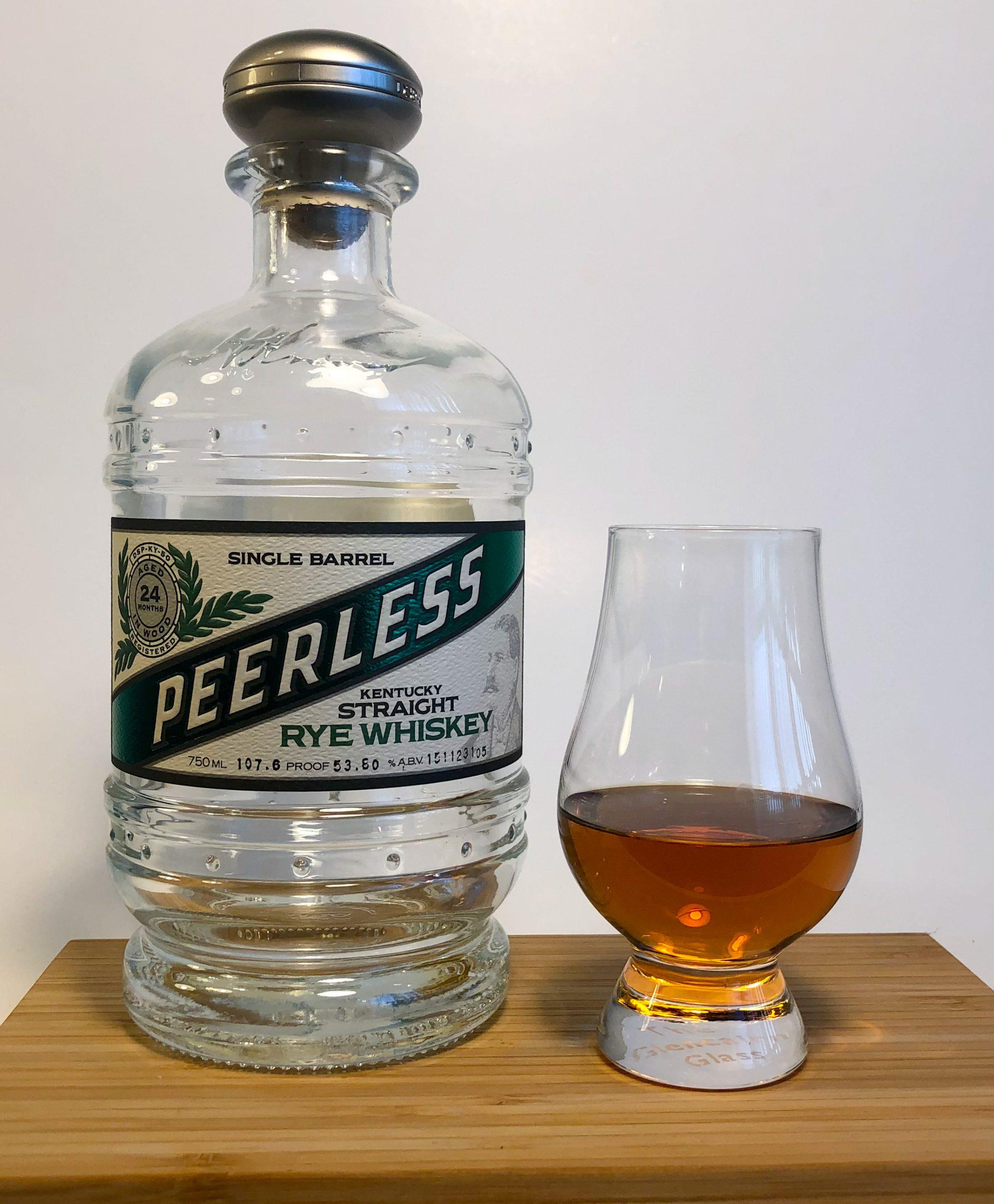 Peerless Single Barrel Kentucky Straight Rye Whiskey Westport Whiskey and Wine & C+S Collaboration #1 Selection