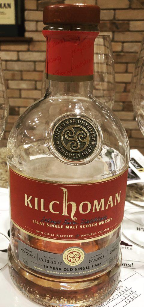 Kilchoman 10yr Single Cask Oloroso Matured