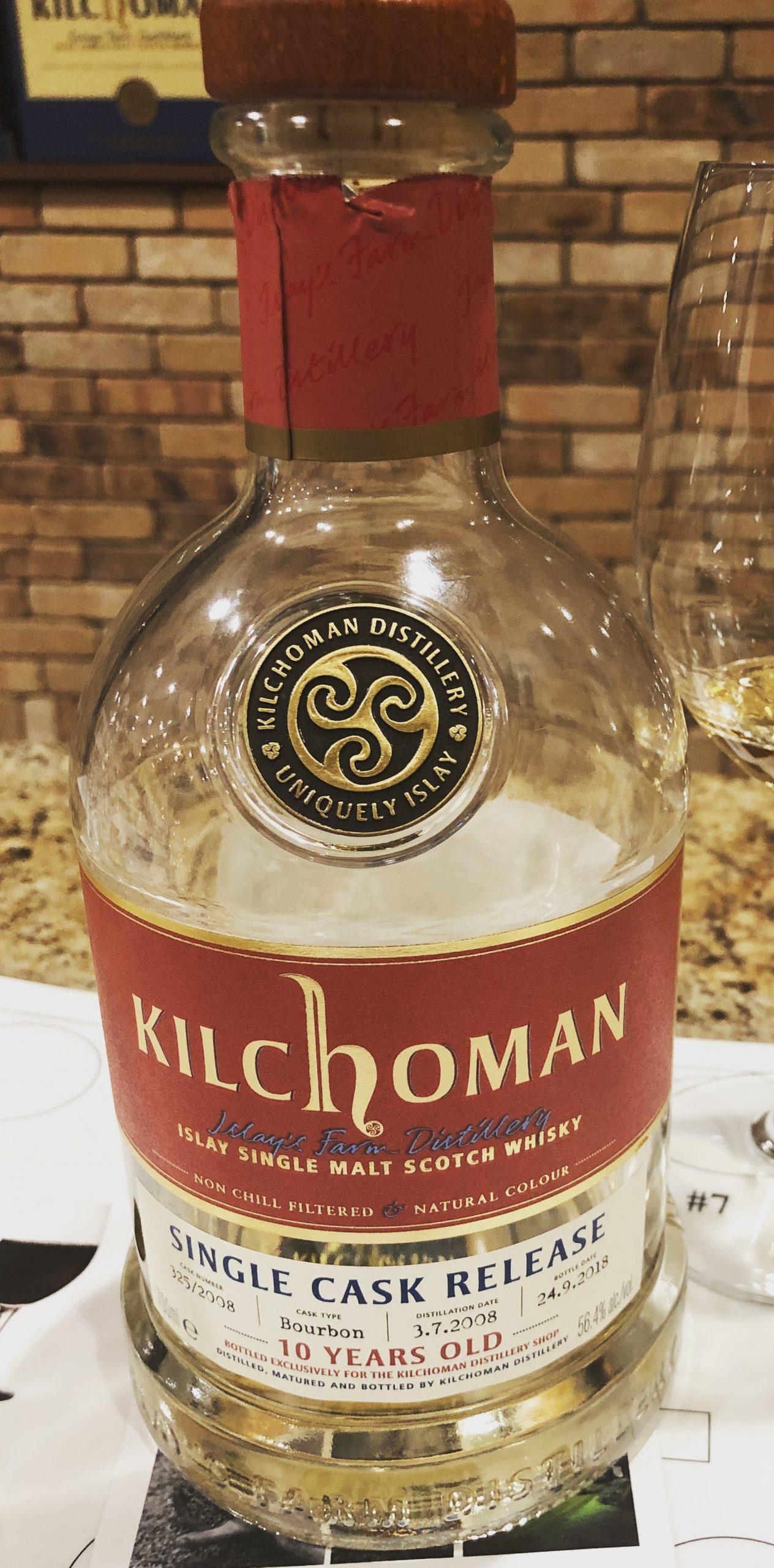 Kilchoman 10yr Ex-Bourbon Single Cask Distillery Exclusive