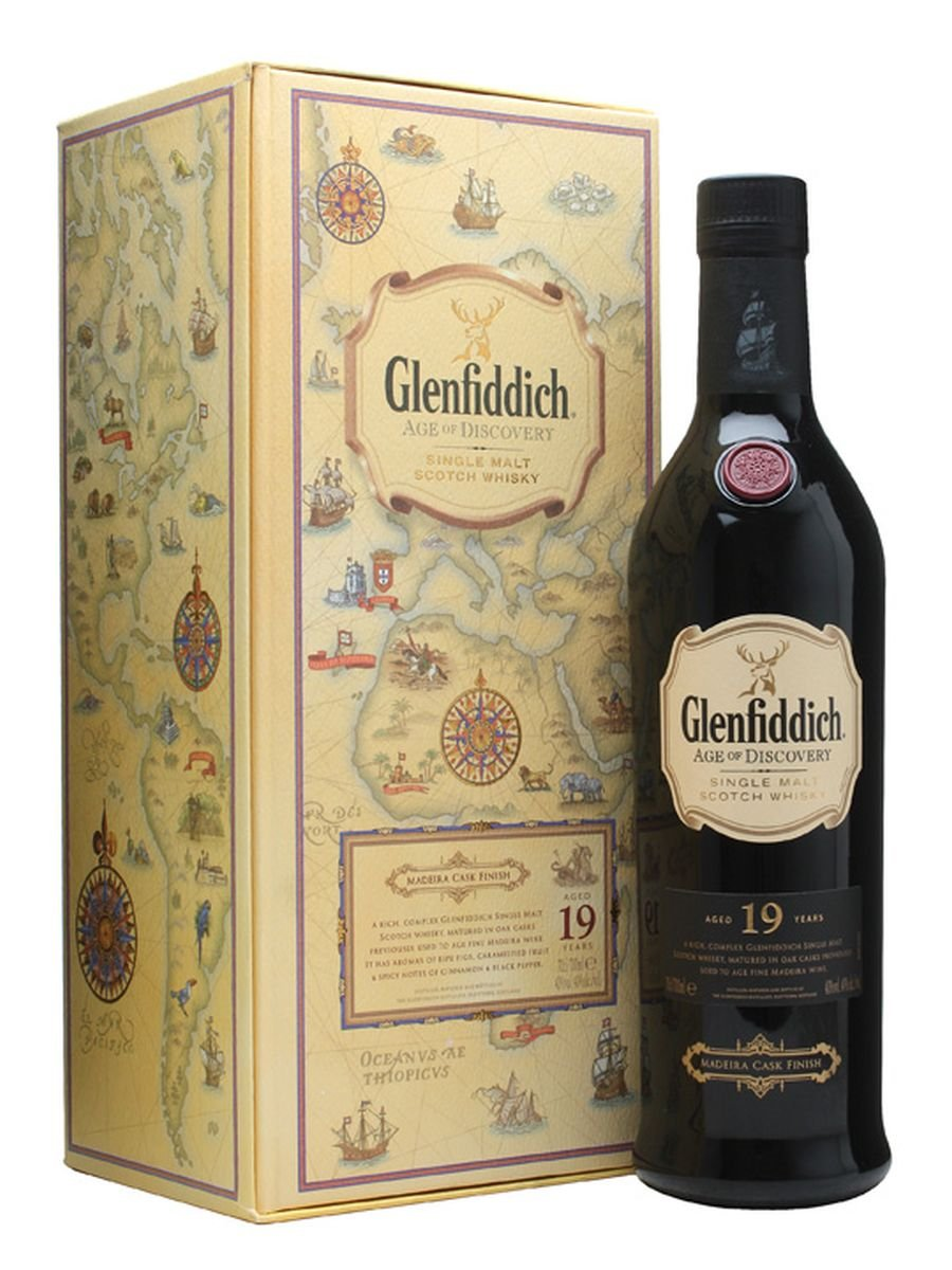 Glenfiddich 19yr Age of Discovery Madeira Cask Finish