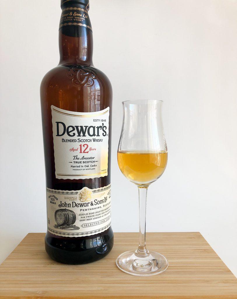 Dewars 12yr Blended Scotch WhiskeyLead post image
