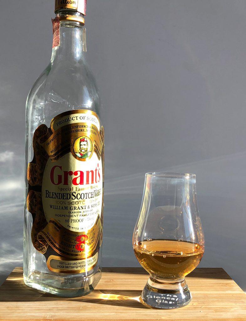 Grants 1980 8yr Blended Scotch Whiskey