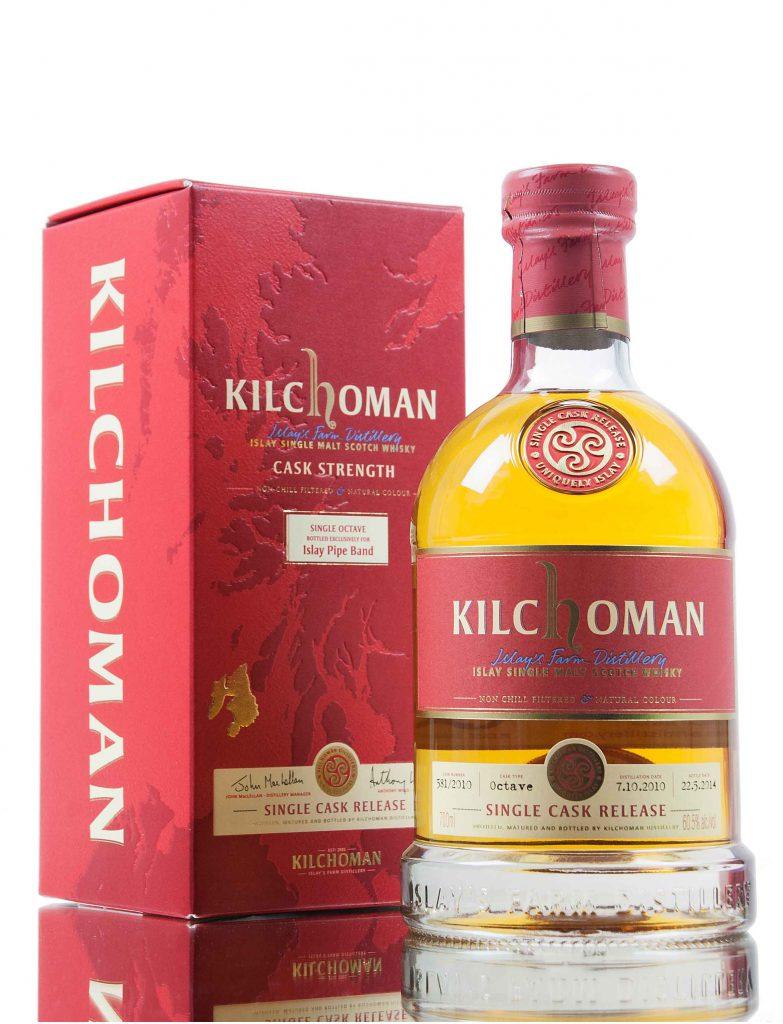 Kilchoman 5yr Single Cask ex-bourbon