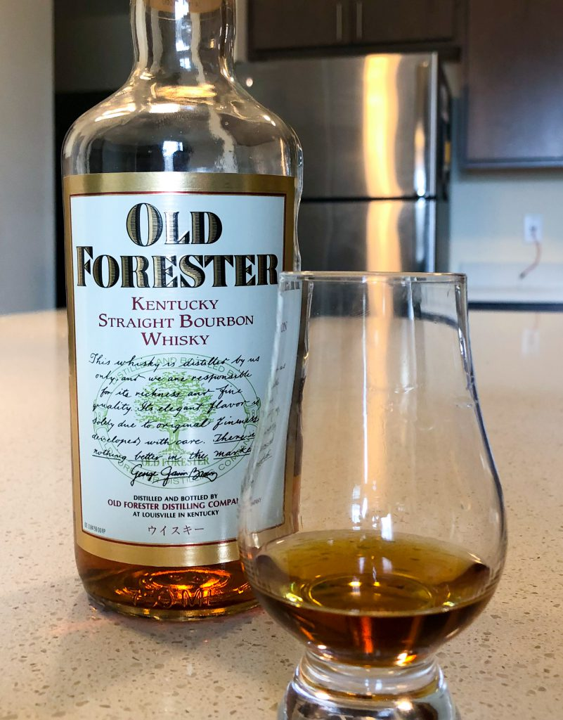 Old Forester Bourbon 1990 Japanese Market