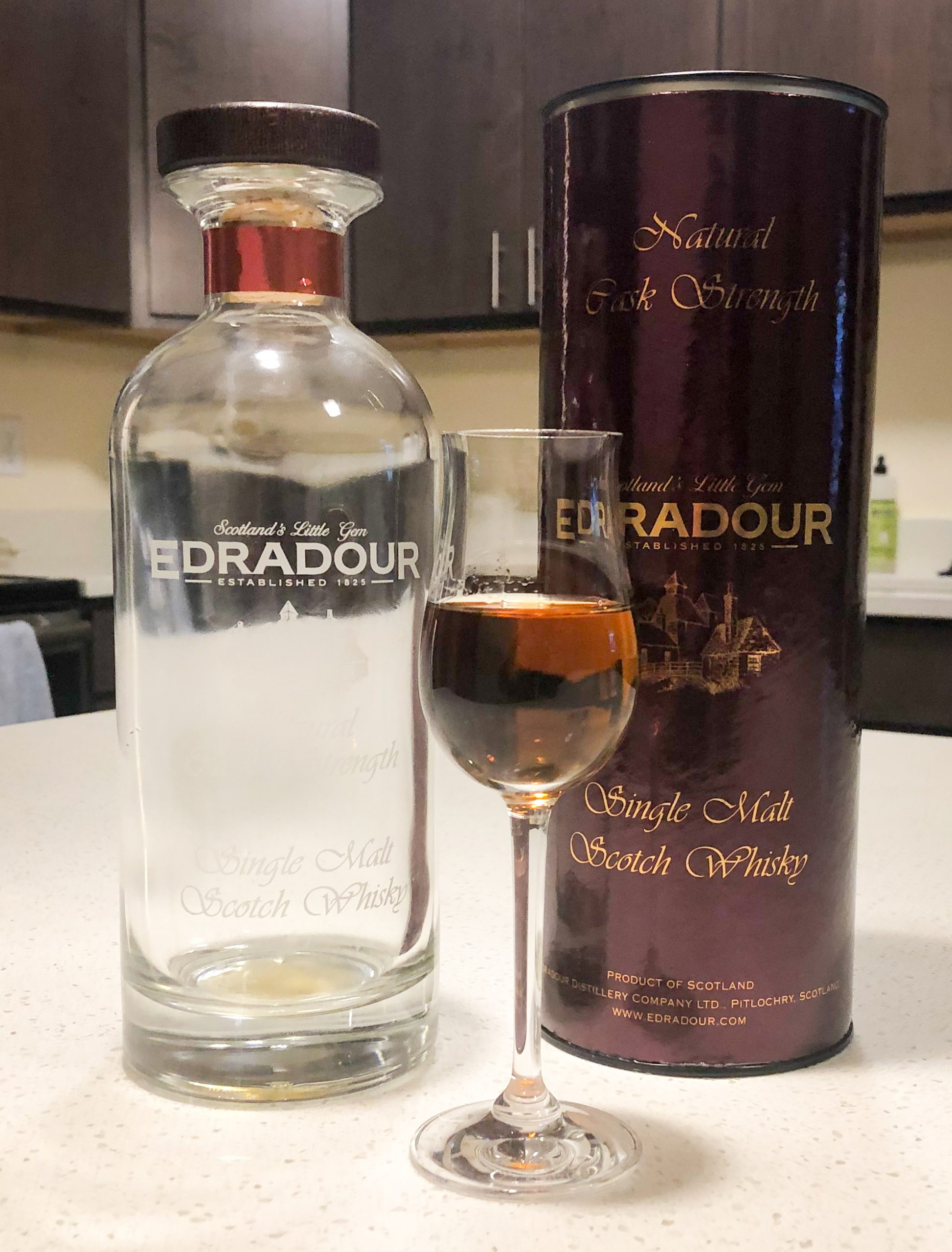 Edradour 13 Year Old 2005 Sherry (Cask #144) - Signatory Ibisco Decanter