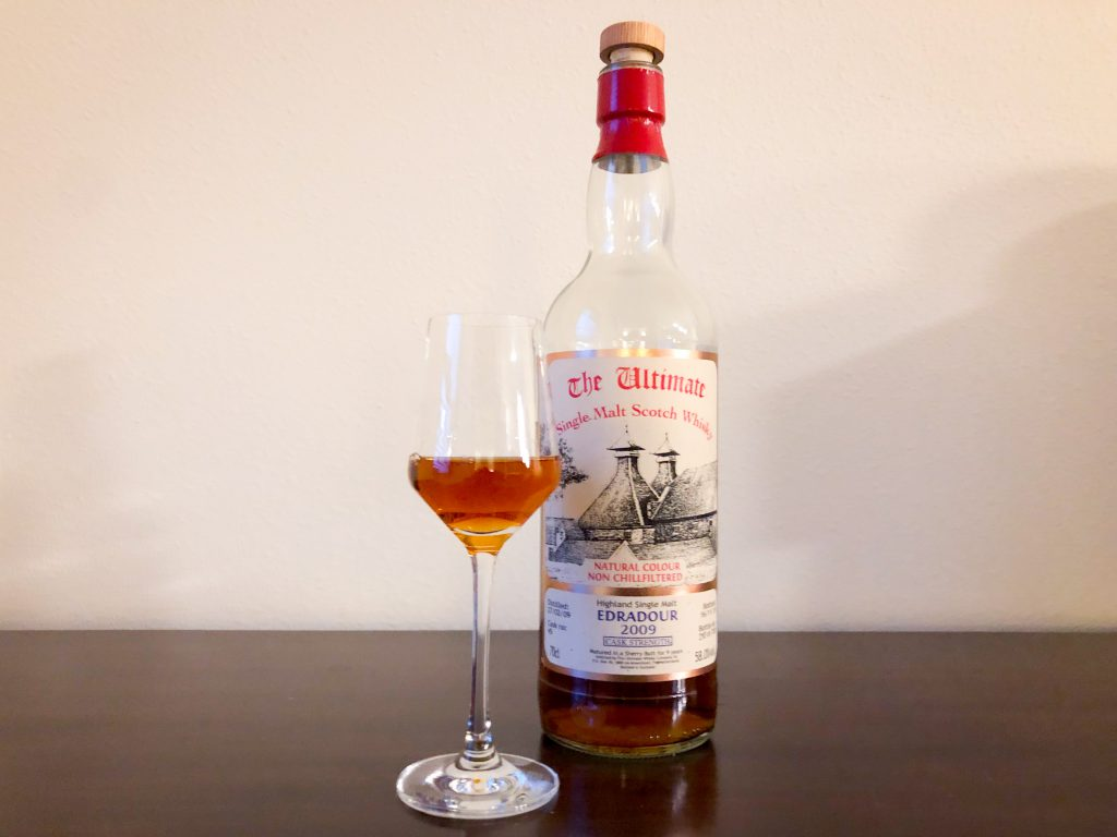 Edradour 9yr The Ultimate 2009 Cask Strength First Fill Sherry Cask #45