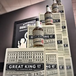Compass Box Great King Street Single Marrying Cask Unholy Triumvirate Cask #31