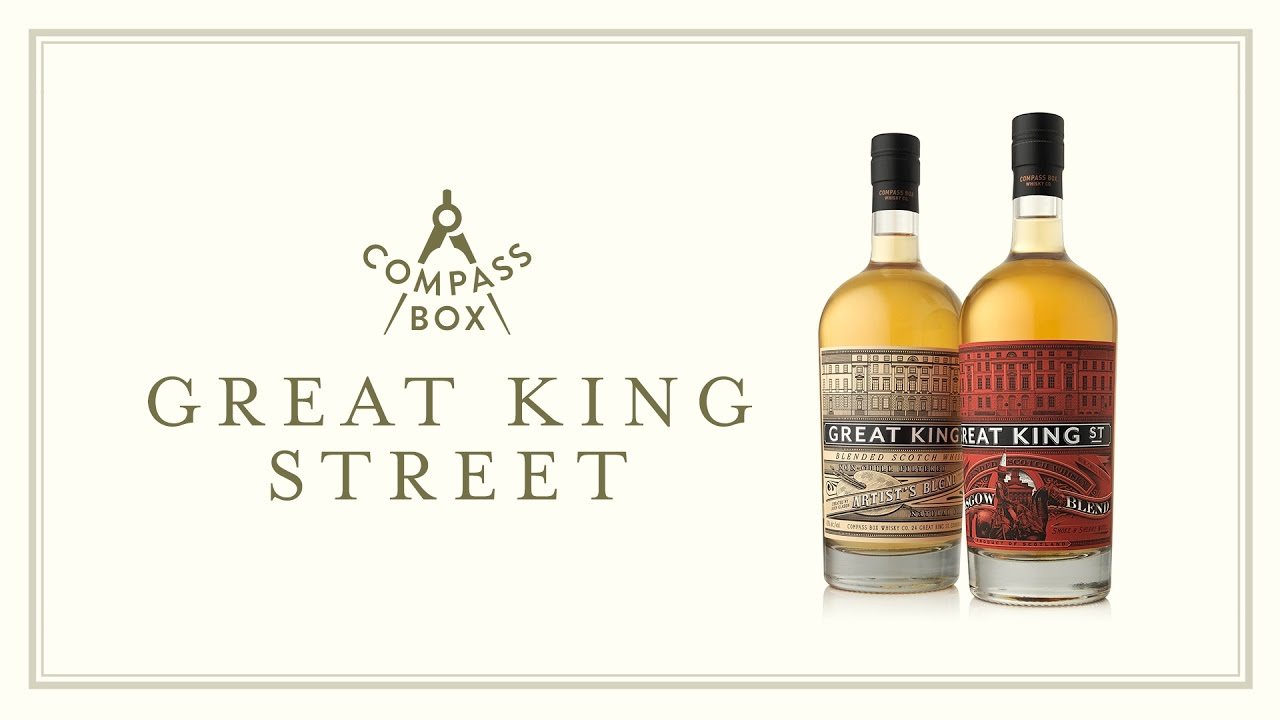 Compass Box Great King Street Single Marrying Cask NY State Edition