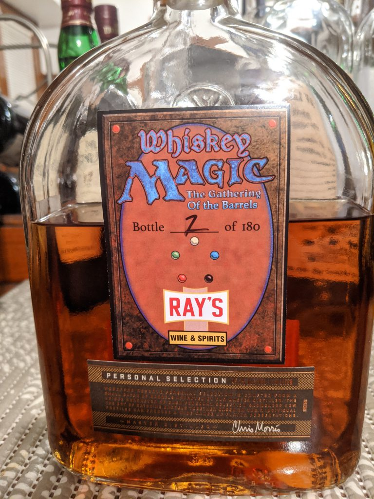 Woodford Reserve Whiskey Magic The Gathering of the Barrels Rays Wine and Spirits Selection