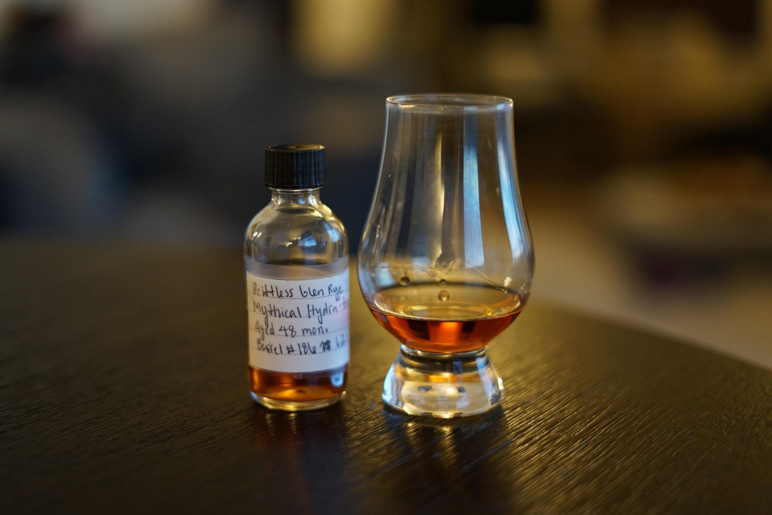 Driftless Glen Single Barrel Rye Mythical Hydration Selection