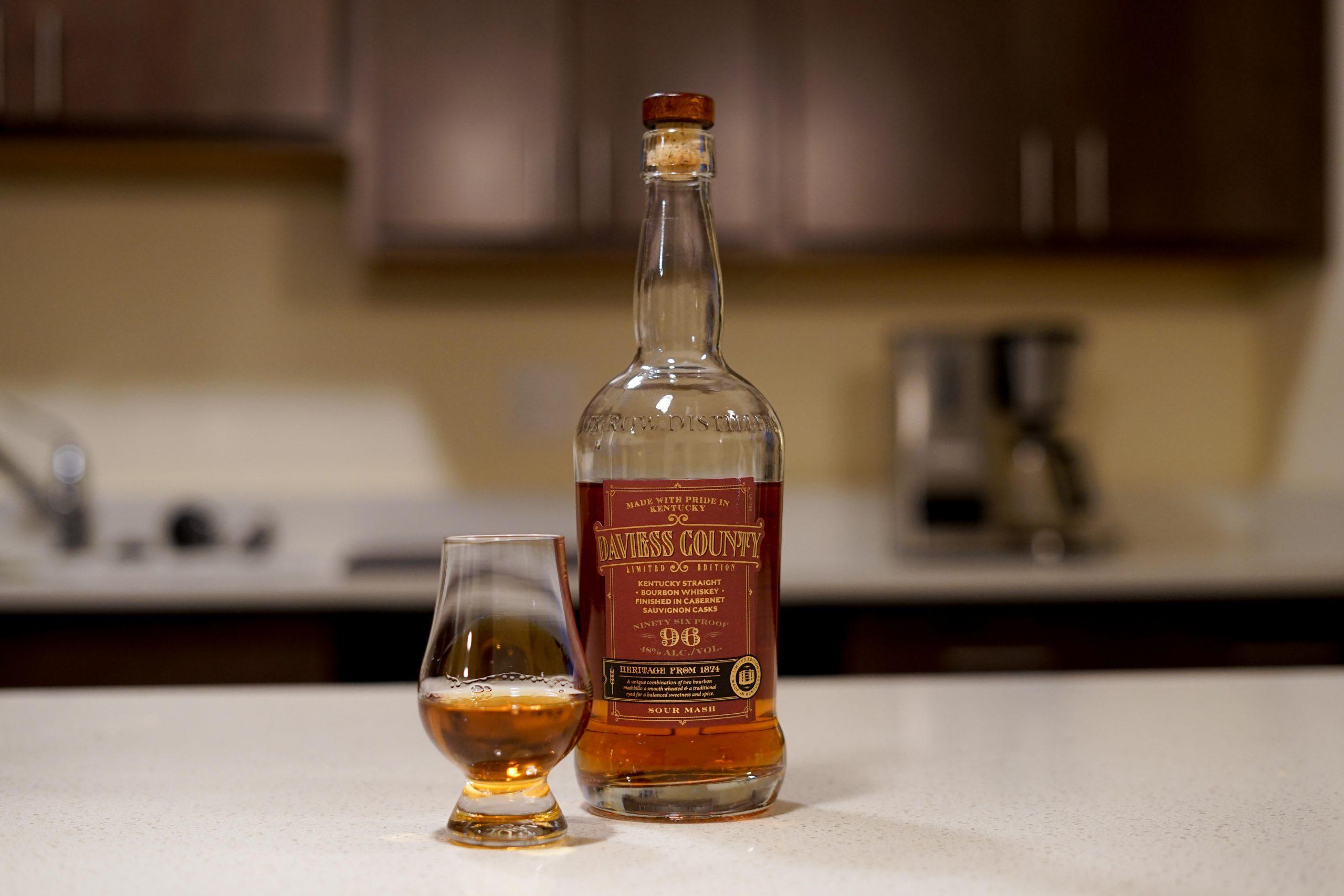 Daviess County Cabernet Finished Bourbon