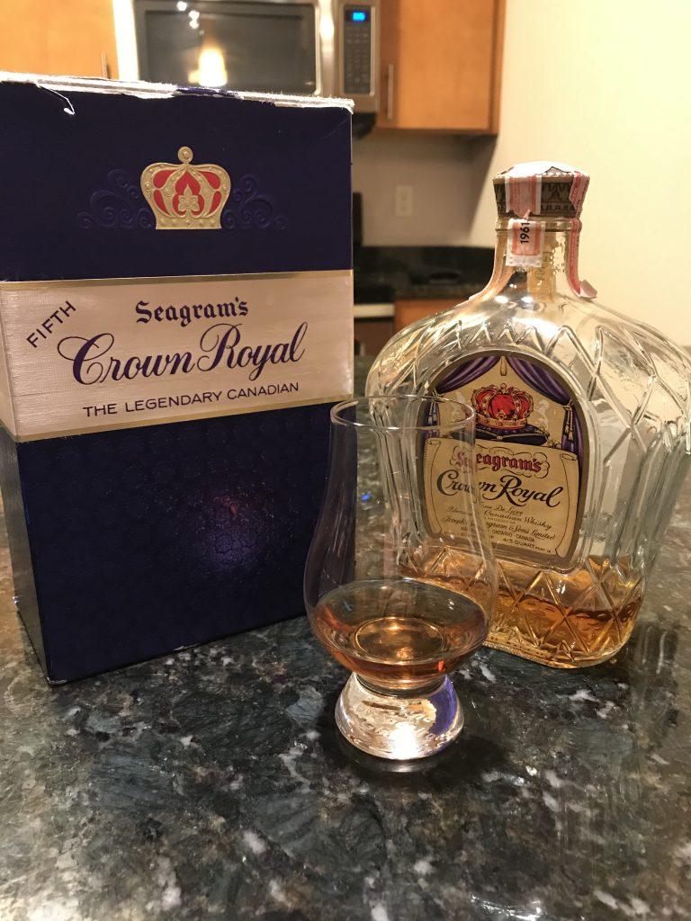 1961 Seagrams Crown Royal Blended Whiskey