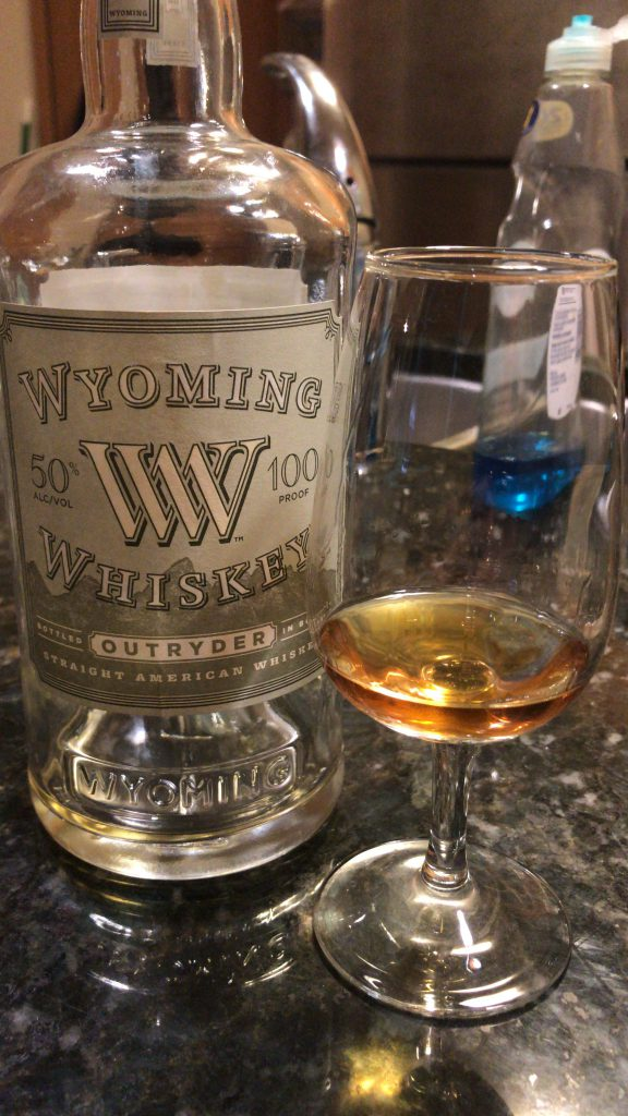 Wyoming Whiskey Outryder Bottled in Bond