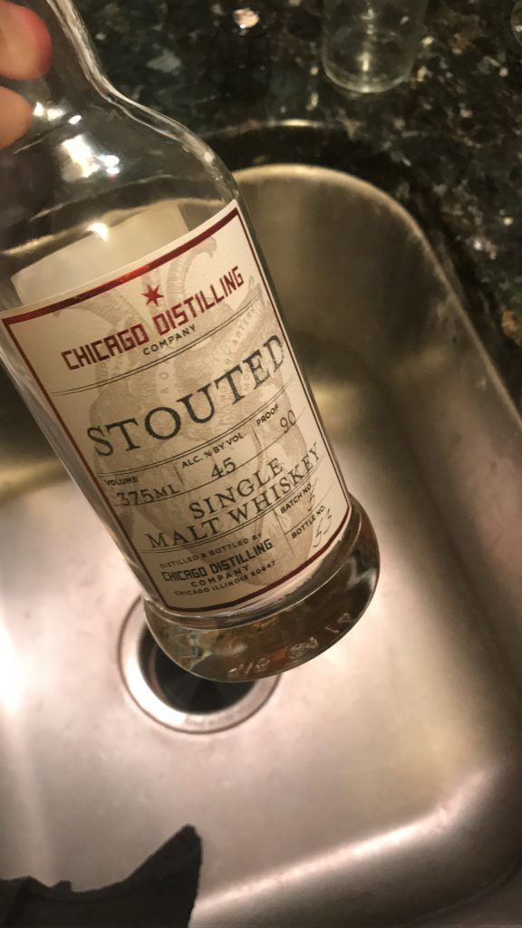 Chicago Distilling Company: Stouted Whiskey