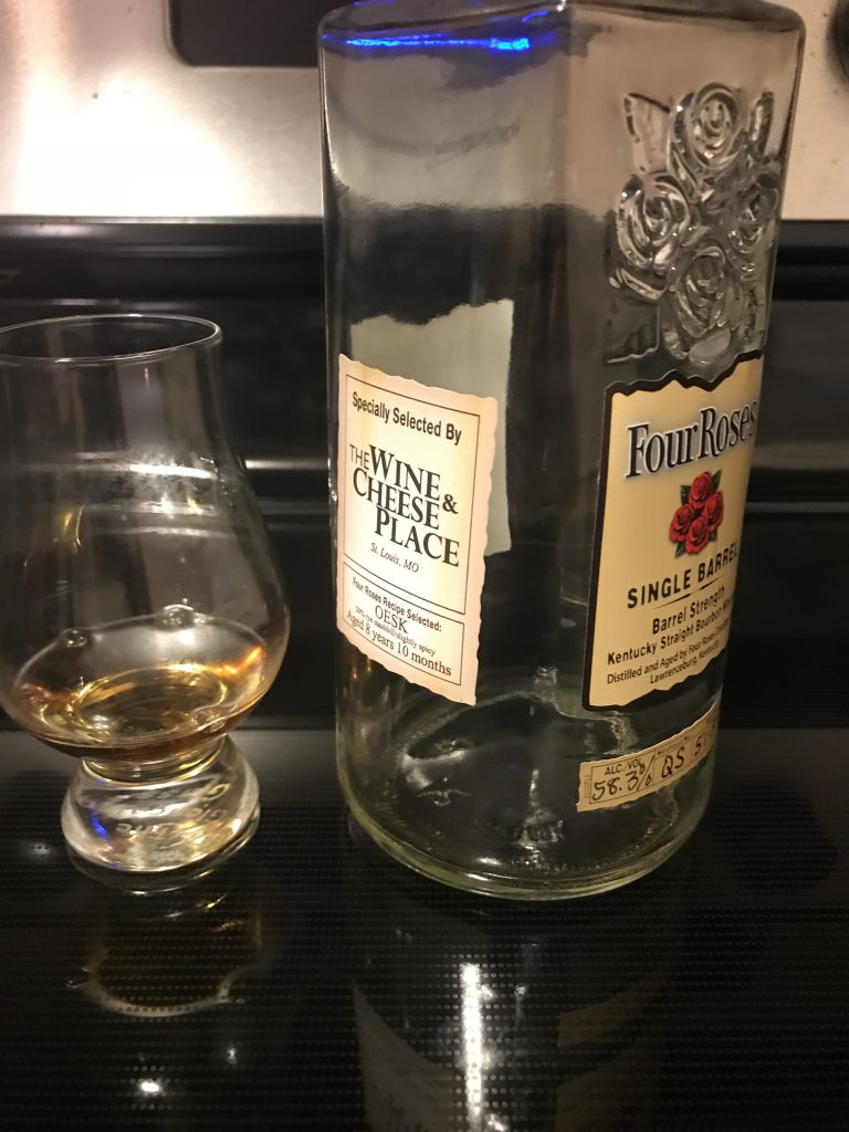 Four Roses OESK Private Selection The Wine and Cheese SelectionLead post image