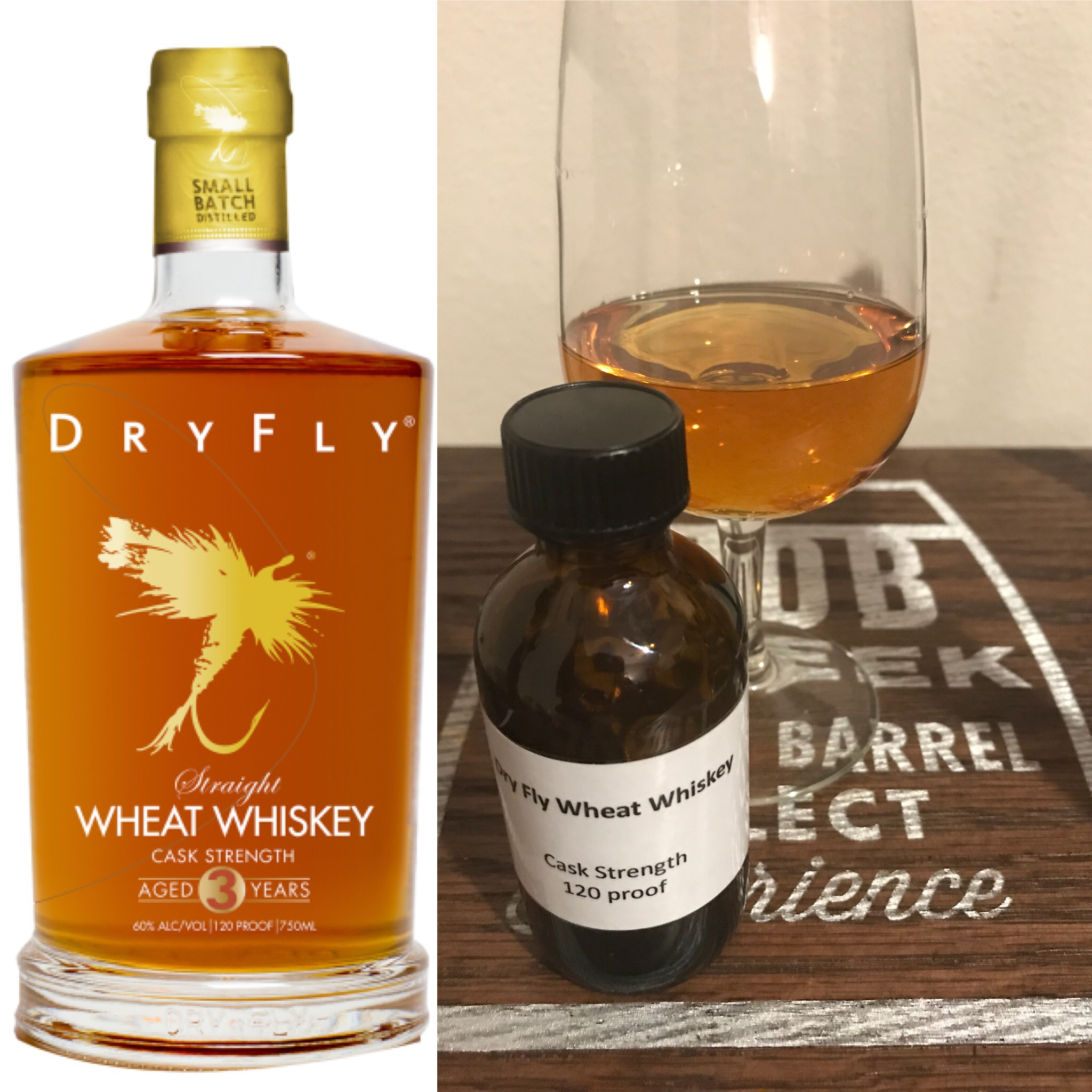 Dry Fly Distilling Wheat Whiskey Cask Strength