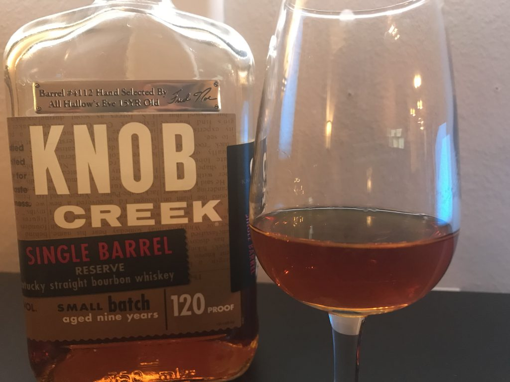 Knob Creek Single Barrel Reserve (Lincoln Road Old Hallows Eve)Lead post image