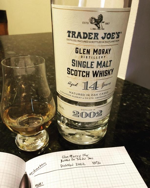 Glen Moray 2002 14yr (Bottled for Trader Joes)