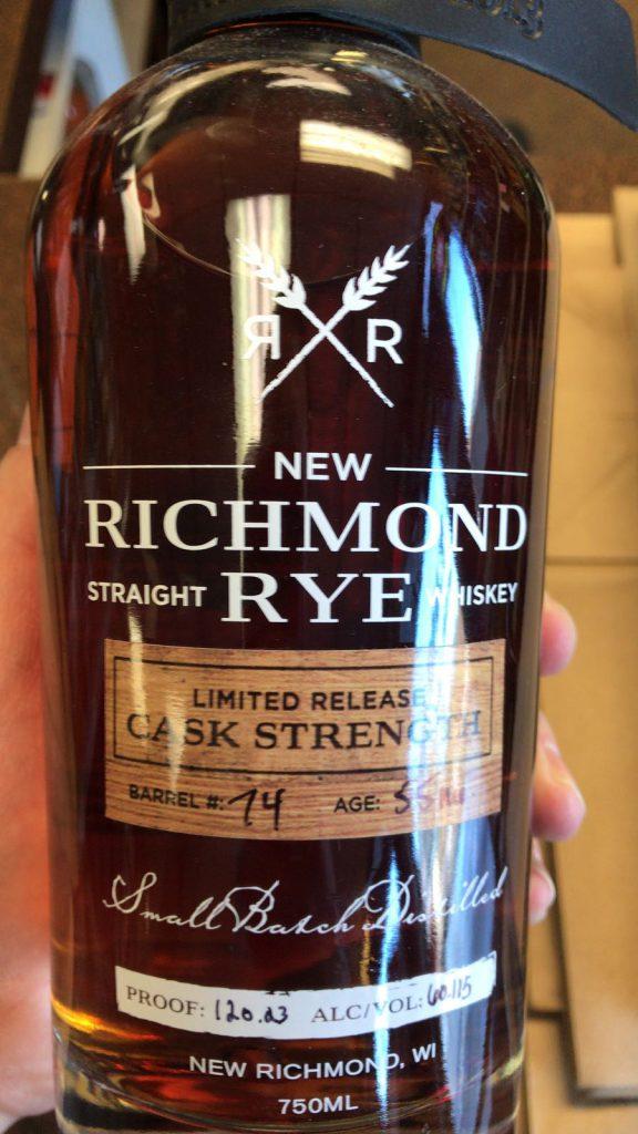 New Richmond Rye Limited Edition Barrel #74Lead post image