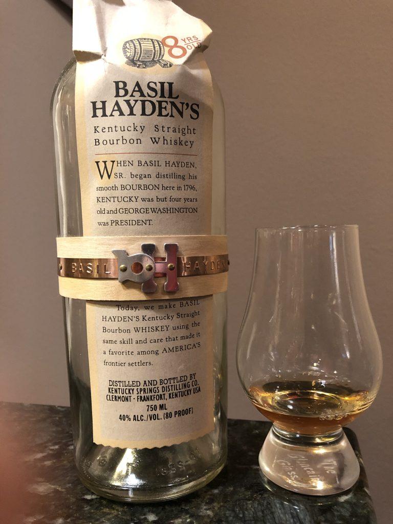 Basil Haydens 8yr Bourbon