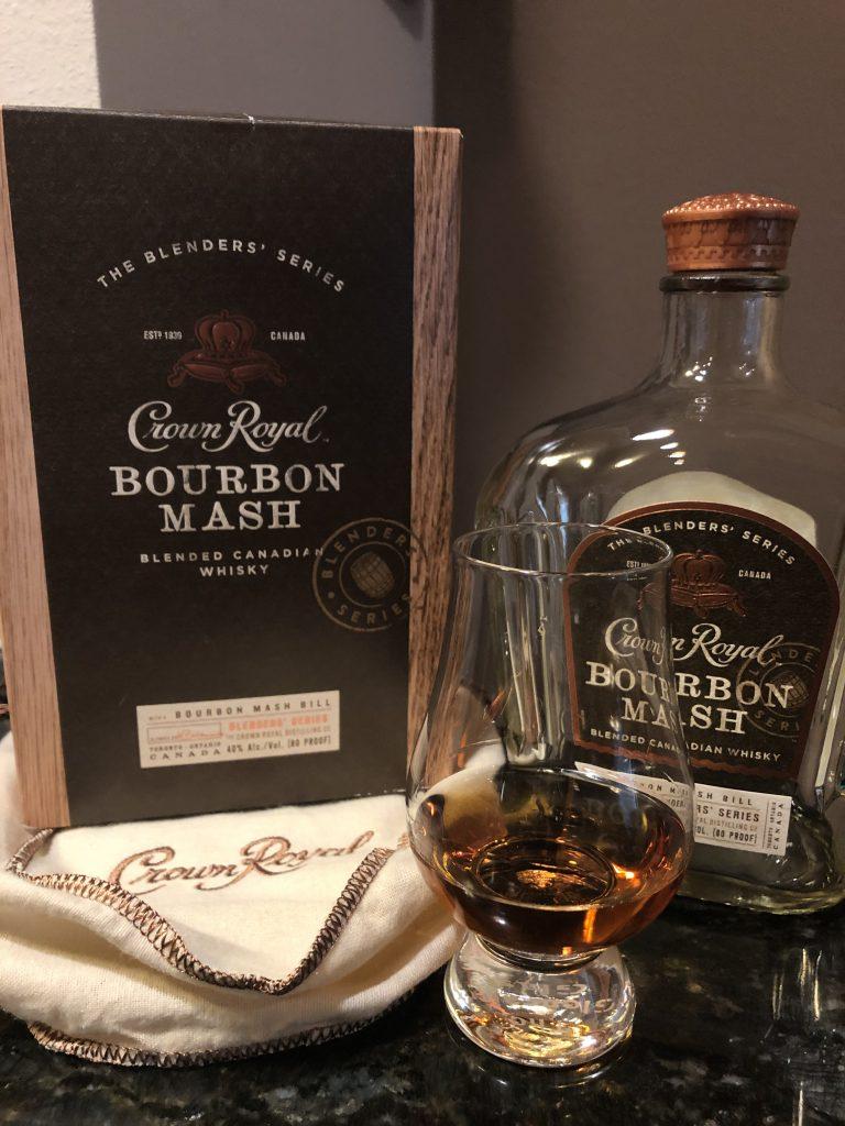 Crown Royal Bourbon Mash Canadian Whisky