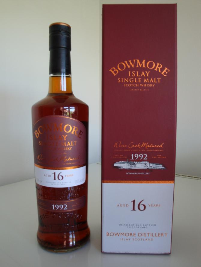 Bowmore 1992 Wine Cask