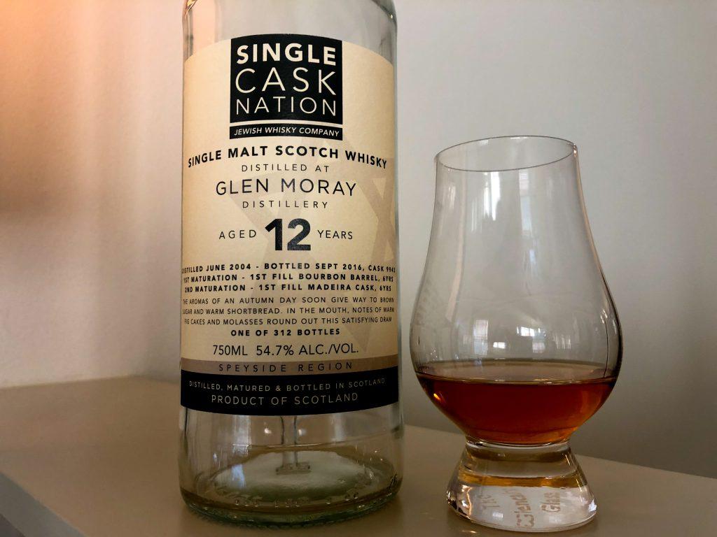 Glen Moray 12yr Single Cask Nation 2004 Madeira MaturedLead post image