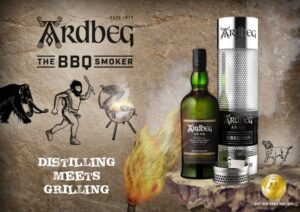 Ardbeg Scotch Whiskey with Smoker
