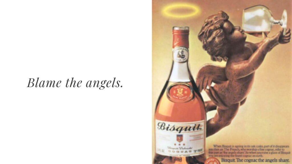 Angel's Share Vintage Advertisement