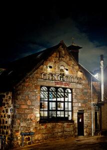 Glen Garioch's renowned scotch whiskey distillery in Oldmeldrum