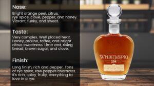 Whistle Pig 18-year Double Malt Rye Whiskey