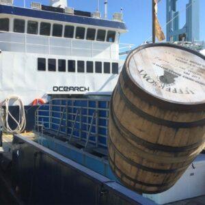 Jefferson's Bourbon Whiskey Onboard OCEARCH Ship