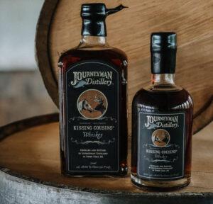 Journeyman Distillery Kissing Cousins Whiskey