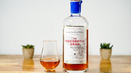 Presidential Dram Bourbon Whiskey