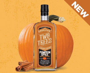 Two Trees Pumpkin Spiced Whiskey. Image via Two Trees.