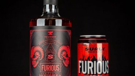 Furious Whiskey (image via Foundry Distilling)