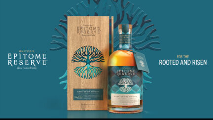 Epitome Reserve, India's first- ever small-batch, artisanal craft, 100% rice whisky.