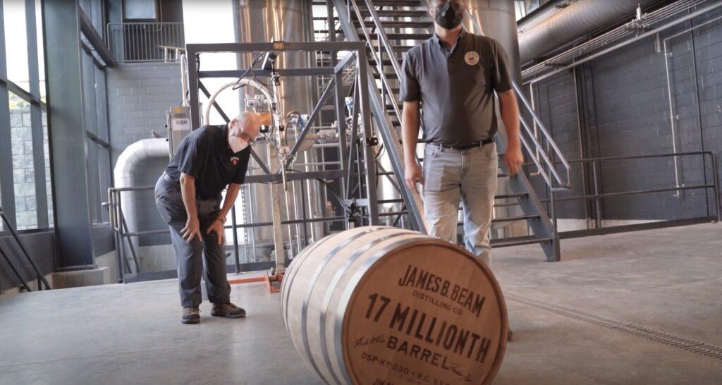 Jim Beam's 12 Millionth Barrel