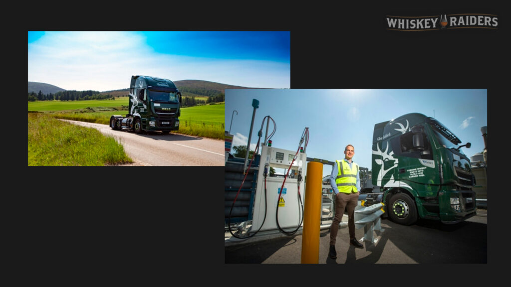Images Of Glenfiddich's Newest Biofuel Trucking Rigs